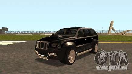 Jeep Grand Cherokee Black pour GTA San Andreas