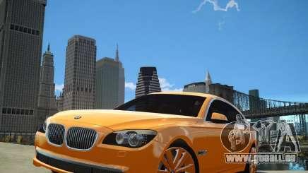 BMW 750Li  2010 pour GTA 4