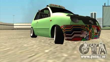 Volkswagen Lupo Hellaflush für GTA San Andreas