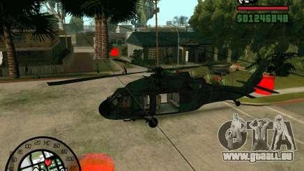 Blackhawk UH60 Heli pour GTA San Andreas