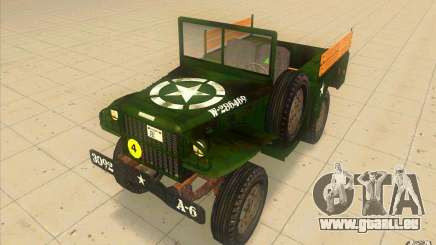Dodge WC51 1944 pour GTA San Andreas