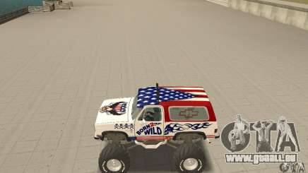 Chevrolet Blazer K5 Monster Skin 7 für GTA San Andreas