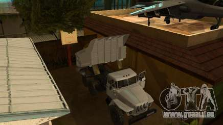 Ural camion à benne basculante 55571 pour GTA San Andreas