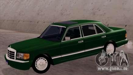 Mercedes-Benz 500SEL pour GTA San Andreas