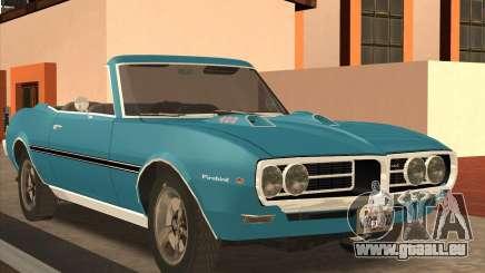 Pontiac Firebird Conversible 1966 pour GTA San Andreas
