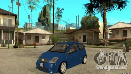 Citroen C2 - Stock für GTA San Andreas