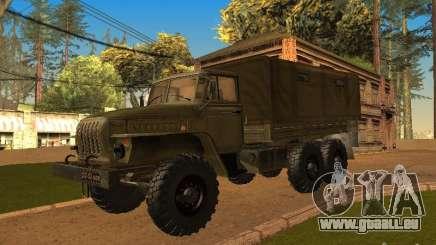 Ural 4320 für GTA San Andreas