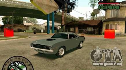 Plymouth Hemi Cuda 440 pour GTA San Andreas