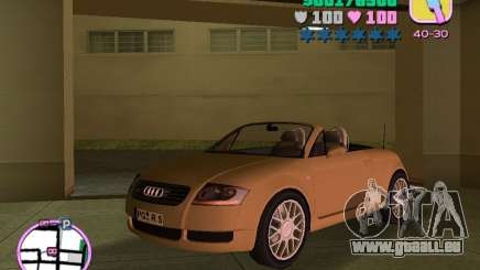 Audi TT ROADSTER pour GTA Vice City