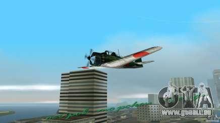 Zero Fighter Plane für GTA Vice City