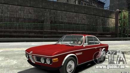 BMW 3.0 CSL E9 1971 pour GTA 4