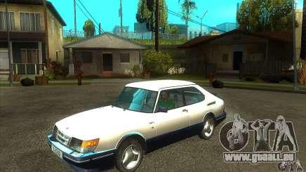 Saab 900 Turbo 1989 v.1.2 pour GTA San Andreas