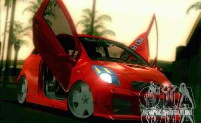 Toyota Yaris pour GTA San Andreas