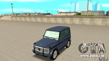 Mercedes-Benz G500 1999 Short [with kangoo v1] pour GTA San Andreas