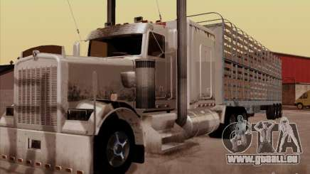 Kenworth W 900 RoadTrain pour GTA San Andreas
