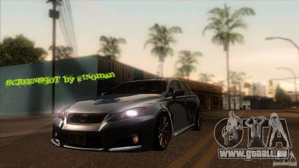 Lexus IS-F für GTA San Andreas