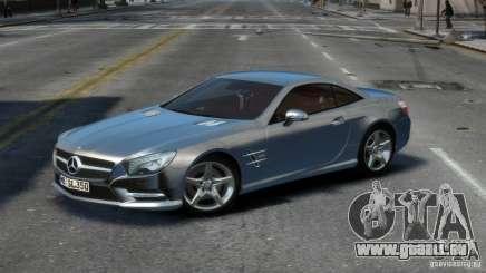 Mercedes-Benz SL 350 2013 v1.0 für GTA 4