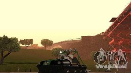 Geländewagen Argo Avenger für GTA San Andreas