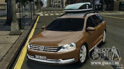 Volkswagen Passat Variant B7 für GTA 4