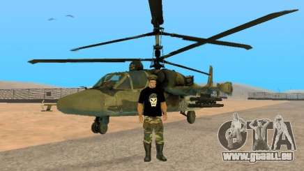 KA-52 Alligator für GTA San Andreas