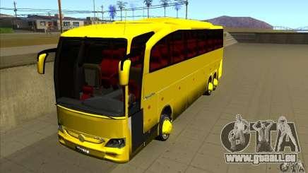 Mercedes-Benz Travego жёлтый pour GTA San Andreas