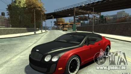 Bentley Continental GT SS pour GTA 4