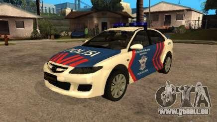 Mazda 6 Police Indonesia für GTA San Andreas