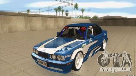 BMW E34 V8 pour GTA San Andreas