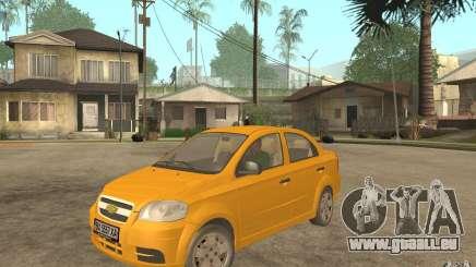 Chevrolet Aveo 2007 final pour GTA San Andreas