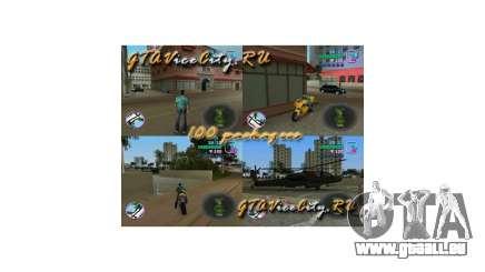 100 paquets cachés de GTA Vice City pour GTA Vice City