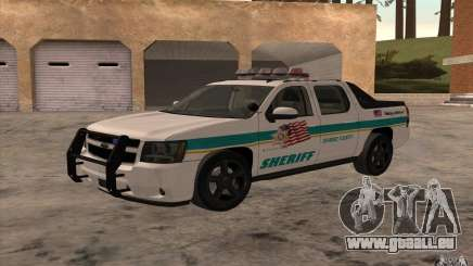 Chevrolet Avalanche Orange County Sheriff pour GTA San Andreas