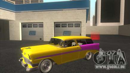 Chevrolet Bel Air Nomad 1956 stock für GTA San Andreas