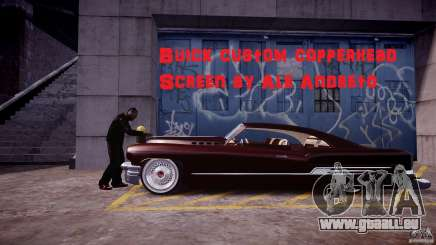 Buick Custom Copperhead 1950 für GTA 4