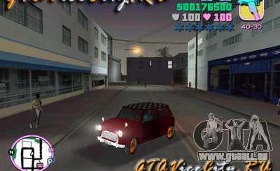 Austin Mini v1.1 pour GTA Vice City