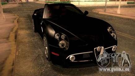 Alfa Romeo 8C Spider 2012 für GTA San Andreas