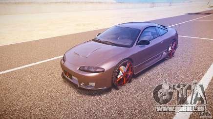 Mitsubishi Eclipse Tuning 1999 pour GTA 4