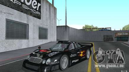 Mercedes-Benz CLK GTR road version (v2.0.0) pour GTA San Andreas