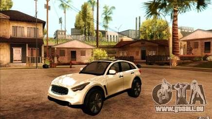 Infiniti FX50 Beta pour GTA San Andreas
