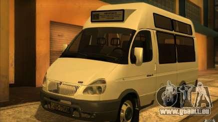 Gazelle SPV-16 Rue pour GTA San Andreas
