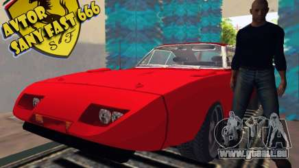 Dodge Charger Daytona Forsazh 6 pour GTA San Andreas