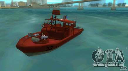 Patrol Boat River Mark 2 (Player_At_Guns) pour GTA Vice City