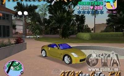 NISSAN Z350 für GTA Vice City