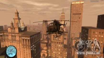 AH-6 Little Bird AcuDigital Camo für GTA 4