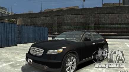 Infiniti FX45 für GTA 4