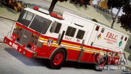 LCFD Hazmat Truck v1.3 für GTA 4