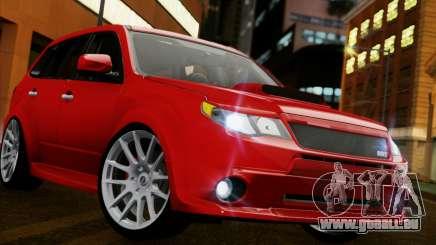 Subaru Forester RRT sport 2008 pour GTA San Andreas