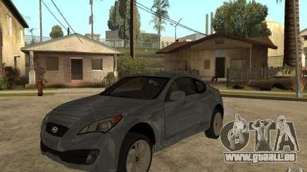 Hyundai Genesis Coupe 2010 pour GTA San Andreas