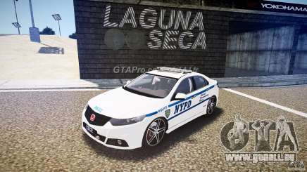 Honda Accord Type R NYPD (City Patrol 7605) ELS pour GTA 4
