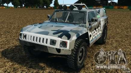Hummer H3 raid t1 für GTA 4