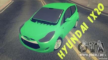 Hyundai ix20 für GTA San Andreas